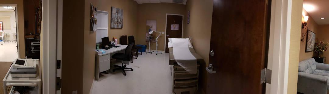exam room and procedure suite